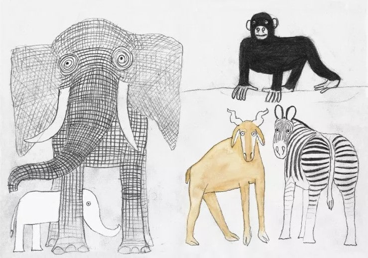 Tablou The Elephants | MAGIS