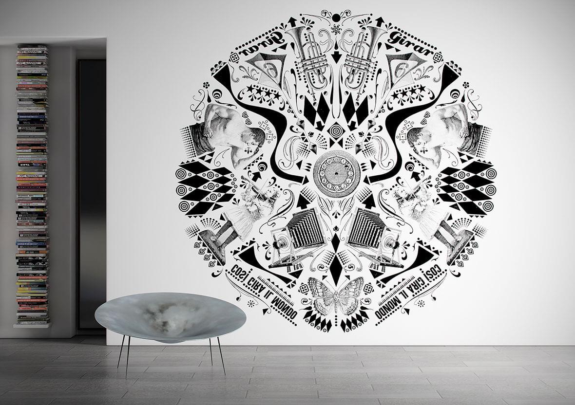 Tapet Circle | GLAMORA