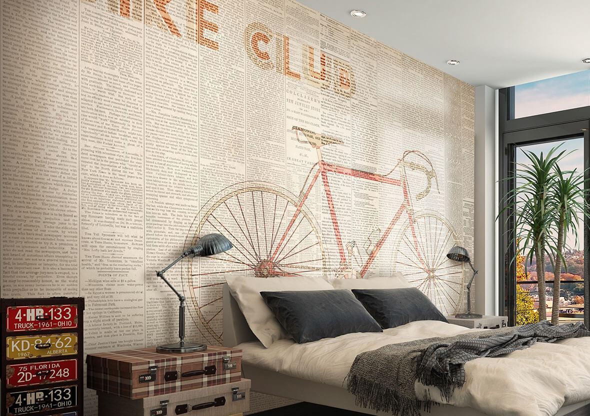 Tapet Bike club | GLAMORA