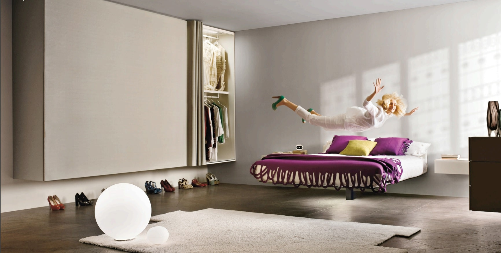 Dormitor Fluttua   LAGO