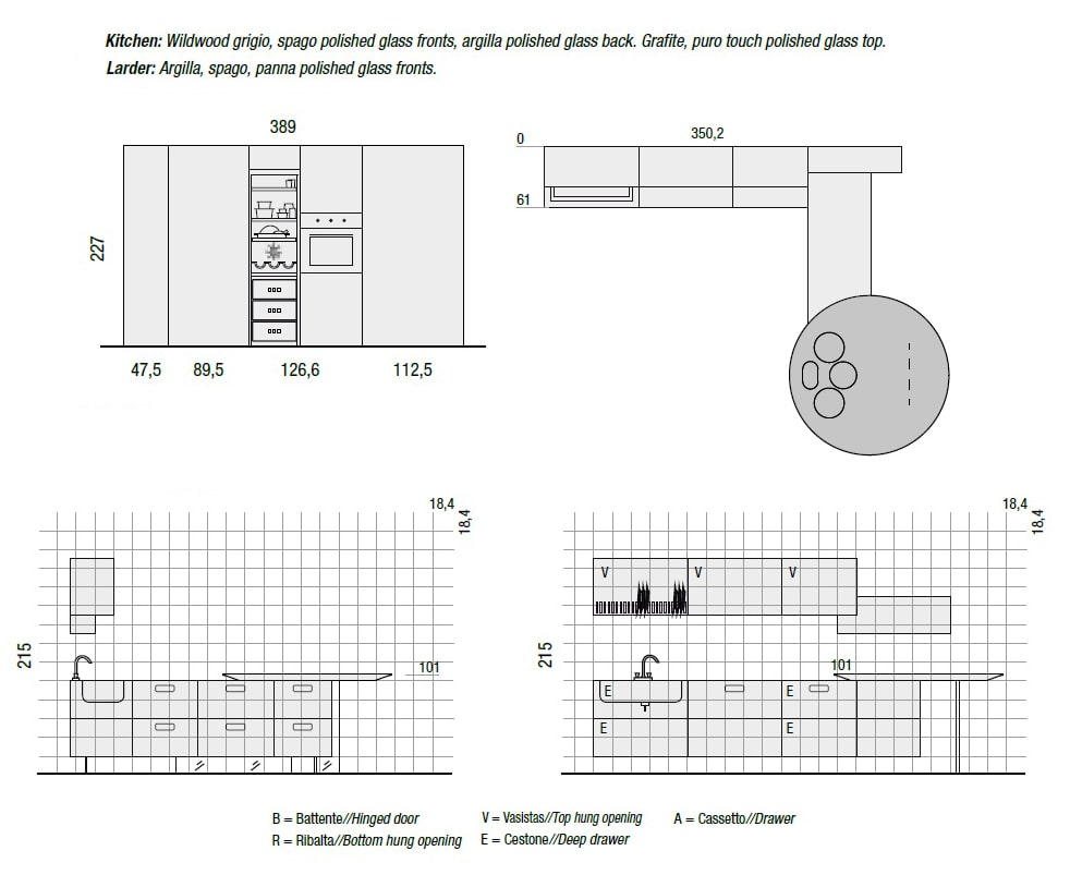 Bucatarie completa Air | LAGO