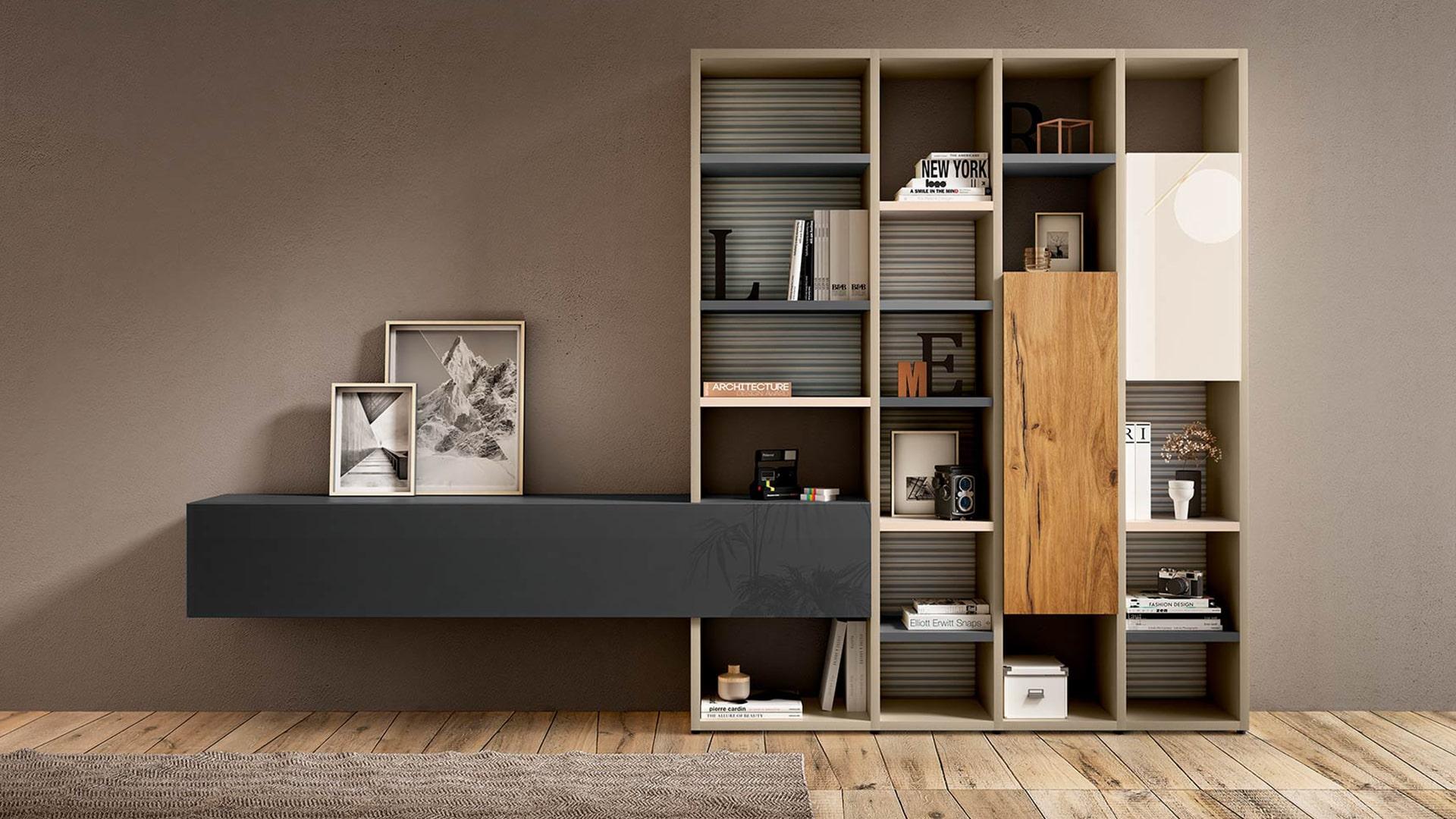 Biblioteca 30mm storage | LAGO
