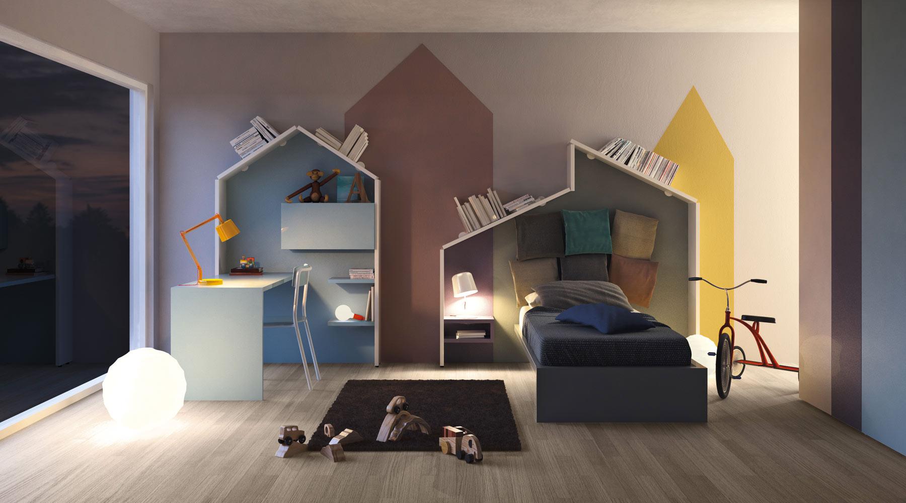 Camera copii Linea   LAGO