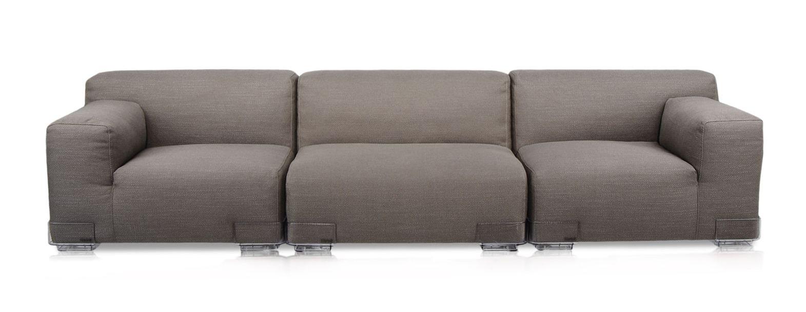 Canapea Plastics Duo (3 locuri)   KARTELL