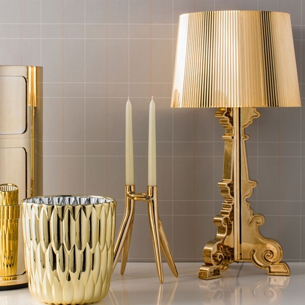 Lampa Bourgie Gold | KARTELL
