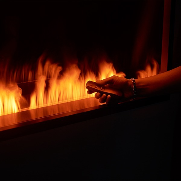Semineu electric Safretti Magic-Fire Mistero