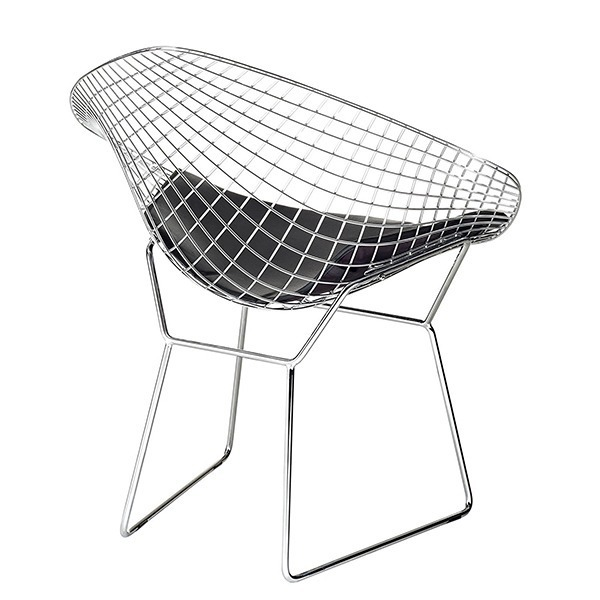 Fotoliu Diamond by Harry Bertoia | GREEN 900