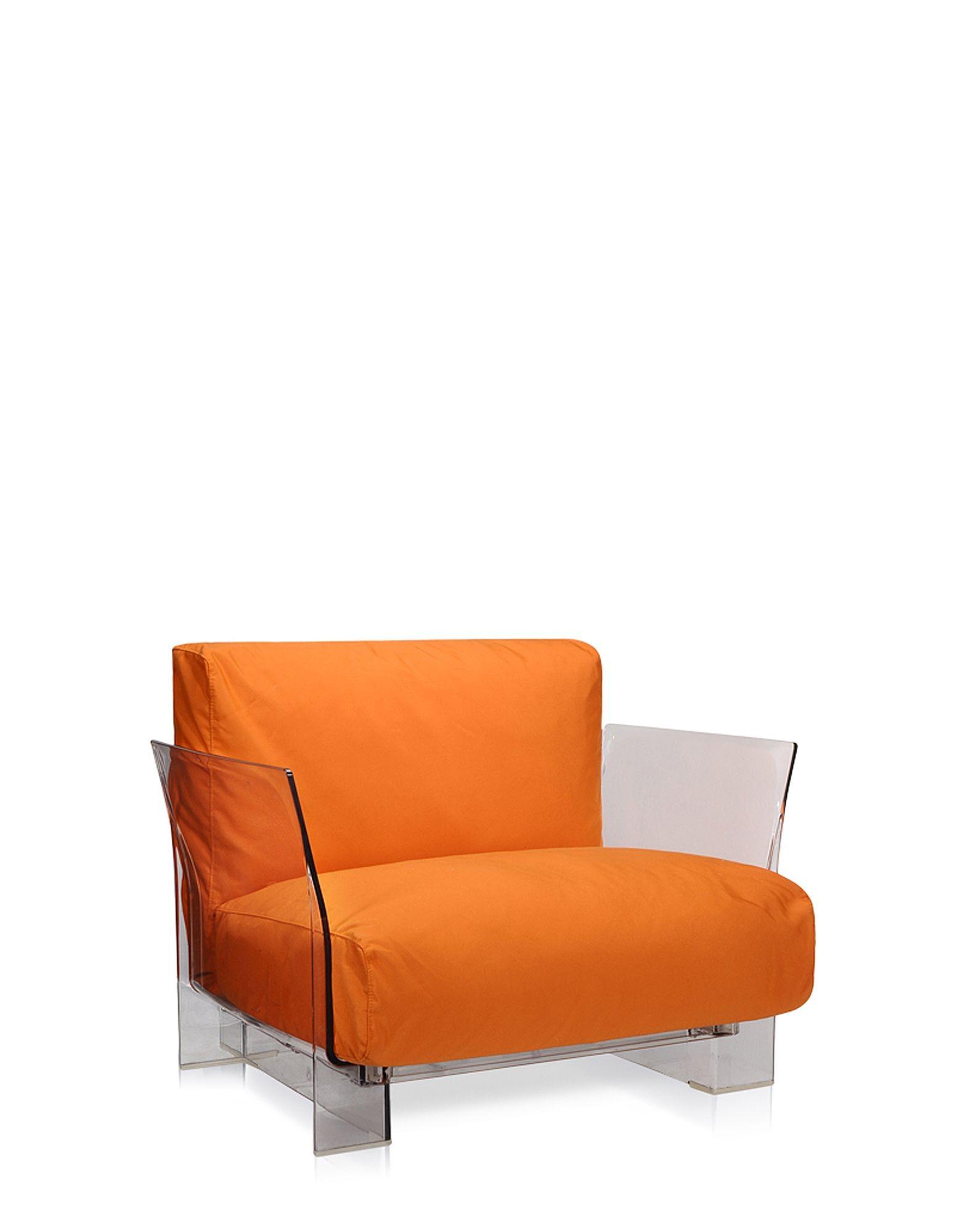 Set canapea, fotoliu, masa si lampa pentru exterior Kartell
